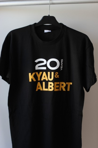 20 years kyau & albert t-shirt / black