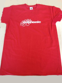 euphonic t-shirt boy, red