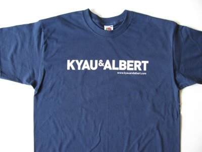 kyau & albert t-shirt, boy, navy blue