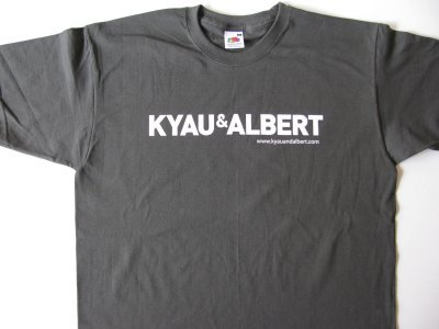 kyau & albert t-shirt boy, graphite grey