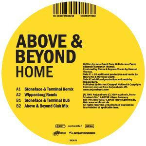 above & beyond / home
