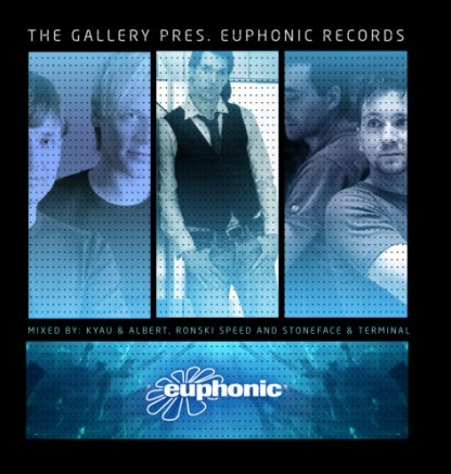 the gallery pres. euphonic records / mixed by kyau & albert, ronski speed and stoneface & terminal