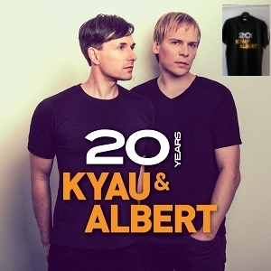 kyau & albert / 20 years bundle with t-shirt